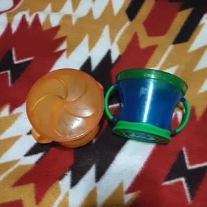 6 for 20 sale Toddler snack cups